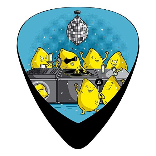 Dj Limon Squeezer Guitar Picks Celluloid Cool Mens Complete Assorted 12 Pack