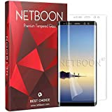 NETBOON Full Cover Screen Guard Protector Soft TPU Film 0.15mm Curved Edge to Edge Coverage for Samsung Galaxy Note 8 - Clear