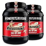 KREASTERON 7, ultimatives ALL-IN-ONE-Aufbauprodukt mit 7 Nährstoff-Kombinationen zum optimalen Muskelaufbau und Kraftsteigerung (Kirsch, 3220 g = 2 Dosen)