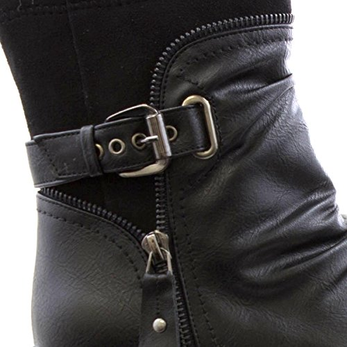Boots E Pretas Caminhada Botas Ankle Almofada qzITgI