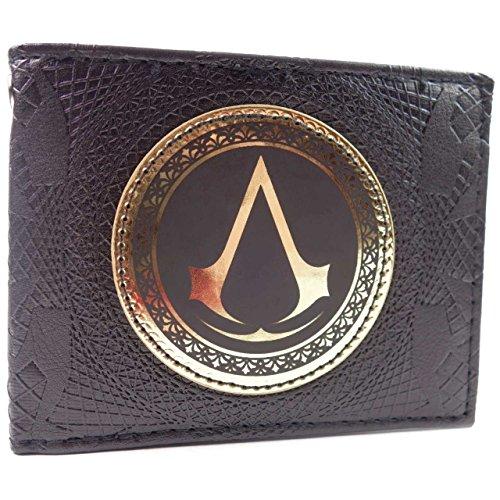 Ubisoft Assassins Creed L'oro Insignia Nero portafoglio