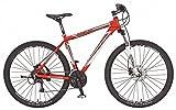 REX Jungen Mountainbike REX Alu-MTB Twentyniner 29 Zoll GRAVELER 6.5, rot, 50, 51486-3111