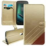 Vonky Motorola Moto G4 Play Flip Wallet Case Ledertasche