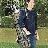 Angelruten-Koffer, große Kapazität, Angelrutenhalter, Aufbewahrungshalter, Schulter, praktisches...