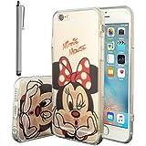 Funda transparente de silicona con diseño de dibujos animados Disney para Apple iPhone 5, 5S y SE, de la marca VComp-Shop®