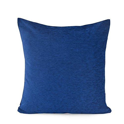 @home by Nilkamal Blue Polyester Moshi Cushion Covers
