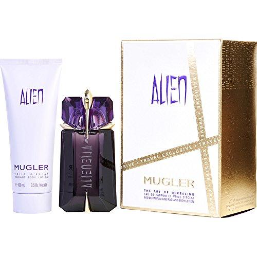 Thierry mugler alien per donna set regalo eau de parfum 60 ml ricaricabile + lozione corpo 100 ml