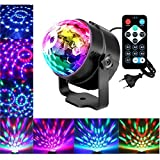 LED Discokugel Nakalus Party Lampe DiscoLicht Musikgesteuert Mit Remote-...