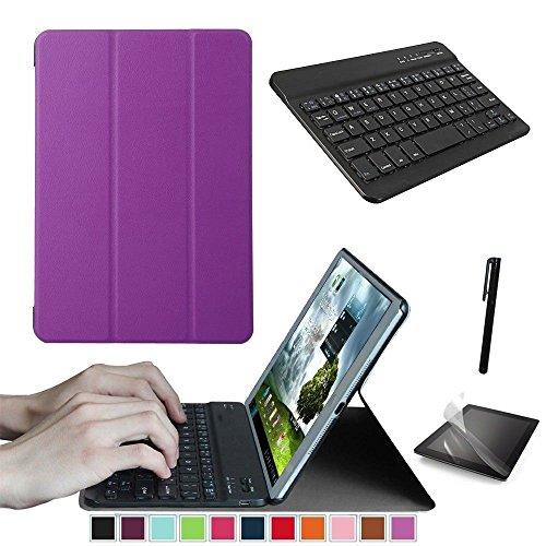 Starter-Set für Lenovo Tab 2 A10-70 30 10.1 Tablet Smart Case, Case Tastatur, gratis Displayschutzfolie Stylus Pen