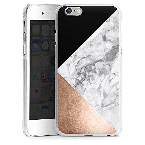 Apple iPhone 5s Housse Outdoor Étui militaire Coque Marbre Rose Gold Motif CasDur anthracite clair