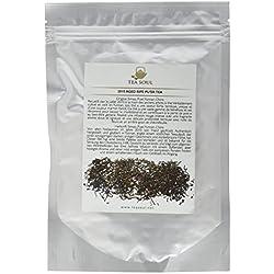 Tea Soul 2010 shu Alter (reif) Premium Lose Blatt Puer Tee / schwarzer Tee von Yunnan, 1er Pack (1 x 50 g)