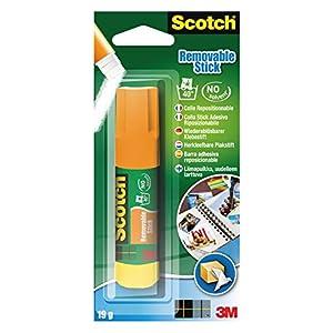 Scotch 3M Colla Stick Permanente, Senza Solventi, 40 g, Confezione da 12 Pezzi + Bic Tipp-Ex Mini Pocket Mouse… 51AuuyEN2pL. SS300