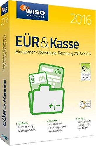 WISO EÜR und Kasse 2016 [PC] Kasse Software