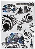 #6: Decals Design Guitar Passion PVC Vinyl Wall Decal (70 cm x 50 cm x 70 cm, Multicolour)