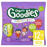Organix Goodies Apfel & Orange, Himbeere & Apple Mini Oaty Bites 110g