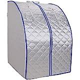 Sauna a infrarossi 650-1000 Watt pieghevole cabina di calore spazio lontano infrarosso sauna risparmio infrarossi Sauna
