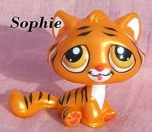 Petshop Tigre de Chine Doré Nacré - en Exclusivité nouvel An Chinois 2010