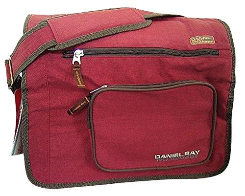 SONDERPREIS: Laptoptasche XL Daniel Ray - Schultertasche Messengertasche RACE red