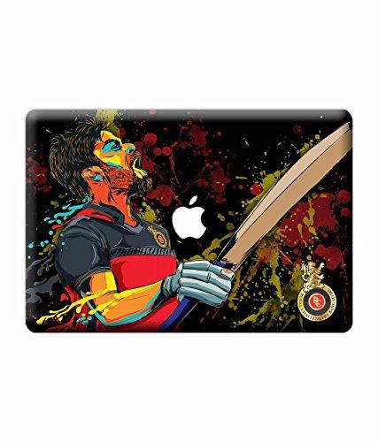 "Macmerise Licensed Royal Challengers Bangalore Virat Kohli Laptop Skins For Macbook Air 13"""