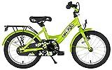 BIKESTAR® Premium Kinderfahrrad für sichere und sorgenfreie Spielfreude ab 4 Jahren ★ 16er Classic Edition ★ Brilliant Grün -