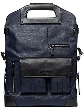 BISON DENIM 3 in 1 Wasserdichter Rucksack Männer Messenger Bags Portable Schultertasche Business Casual Handtasche...