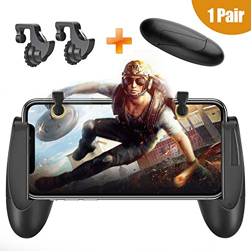 Back To Search Resultsconsumer Electronics Gamepads Pubg Joystick Controller Trigger Button Gamepad Ios Android Phone Six 6 Finger Operating Gamepad Peripherals Pubg Controllers Relieving Rheumatism