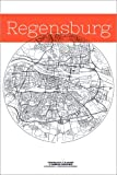 Poster 80 x 120 cm: Regensburg Karte Kreis von Campus