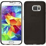 PhoneNatic Case für Samsung Galaxy S6 Hülle Silikon schwarz transparent Cover Galaxy S6 Tasche Case