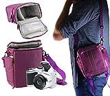 Navitech Tragetasche für lila Digitalkamera und Reisetasche für Nikon D500 Body Single-Lens Reflex Digital Camera