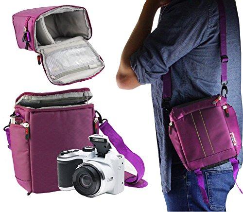 Navitech Tragetasche für lila Digitalkamera und Reisetasche für Nikon D500 Body Single-Lens Reflex Digital Camera Digital Single Lens Reflex