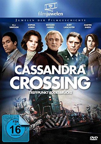 The Cassandra Crossing - Treffpunkt Todesbrücke (Filmjuwelen) [DVD]