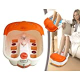 Shag Foot Bath Massager Spa with Heat Vibration Leg Massager