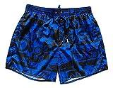 Dsquared Costume da Bagno Uomo Boxer Corto D7B6G2570.330 DSQ2 Punk Swim Shorts tg. 48 EU
