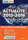 Actualité 2015-2016 - Concours et examens 2016 - Tous les ...