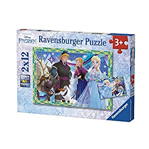 Ravensburger- Puzzle 2x12, (1)