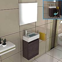 Suchergebnis auf Amazon.de für: waschbecken unterschrank klein | {Waschbeckenunterschrank hängend gäste wc 81}