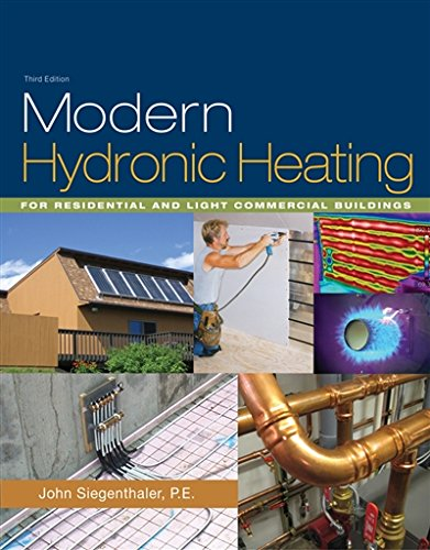 Modern Hydronic Heating: For Residential and Light Commercial Buildings (Go Green with Renewable Energy Resources)