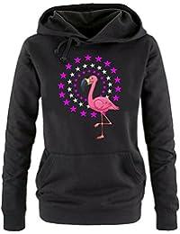 FLAMINGO STARS ! Unicorn Damen Hoodie - Sweatshirt mit Kapuze Gr.S M L XL XXL schenken Birthday Party Feiern