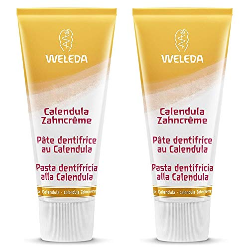 Weleda Calendula Zahncreme 75ml - 2er-Pack