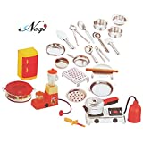 Negi 24 Pieces Stainless Steel Utensils Non Toxic Indian Kitchen Set Great Kitchen