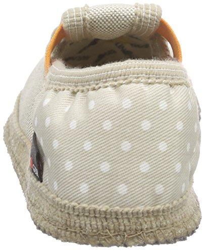 Haflinger Nag Nag, Pantoufles non doublées mixte enfant Multicolore - Mehrfarbig (Beige 249)