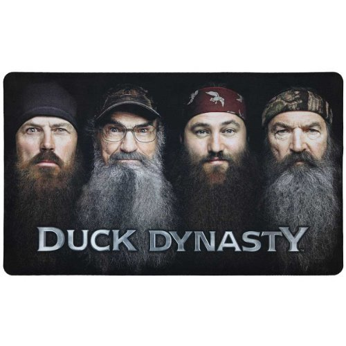Duck Dynasty Beards Are Here Floor Mat Rug 18 by 30 inch 1 count