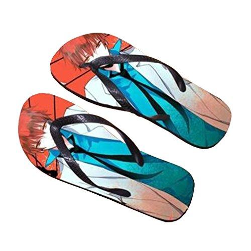 Bromeo Kuroko No Basuke Anime Unisex Flip Flops Zehentrenner Flip Pantoffeln 449