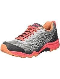 Asics Gel-Fujitrabuco 5, Chaussures de Course pour Entraînement sur Route Femme, Gris