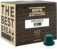 Note d'Espresso Brasile Coffee Capsules exclusively Nespresso* machine Compatible 5.6g x 100 Capsules
