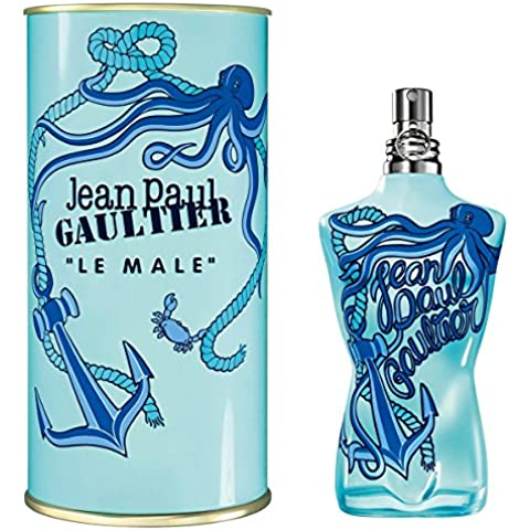 Jean Paul gaultiert Le Male Summer Edition Homme/Men, Eau de Toilette vaporisateur/aerosol 125 ml, 1er Pack (1 x