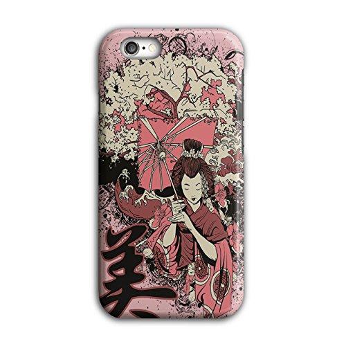 Geisha Sakura Kunst Fantasie Kostüm Perücke iPhone 6 / 6S Hülle | Wellcoda