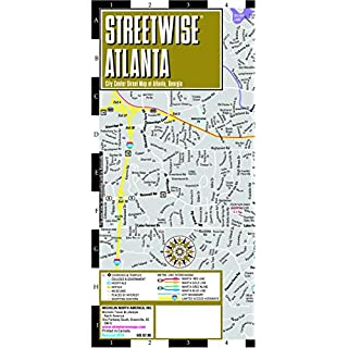 Streetwise Map Atlanta - Laminated City Center Street Map of Atlanta: City Plans (Michelin City Plans)