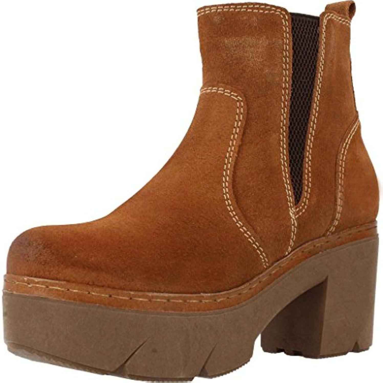 Botas para Mujer, Color marrón, Marca Hangar, Modelo Botas para Mujer Hangar 3911 Marrón