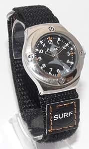 Boys/Kids Black Sports/Surfers Watch-14-16cm Velcro Strap-K24